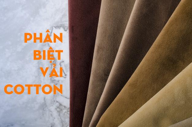 Phân biệt vải cotton