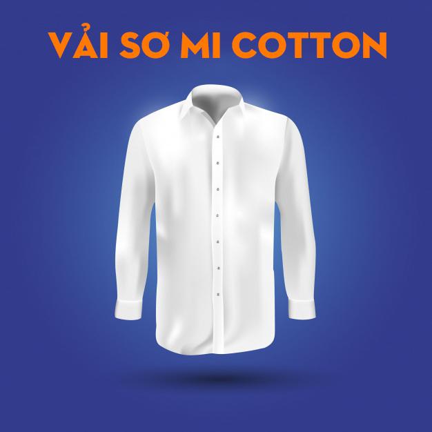 vải sơ mi cotton