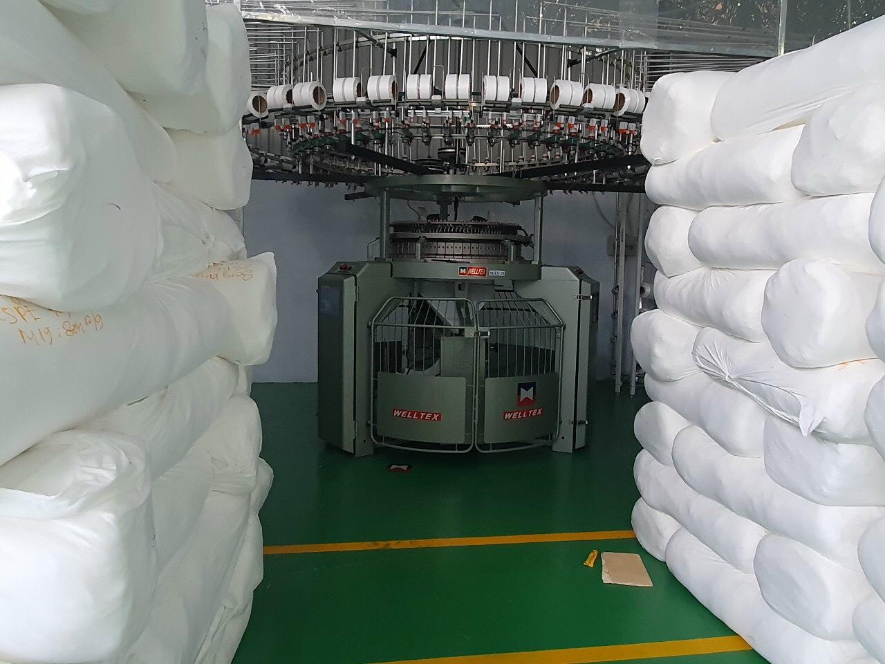 Xưởng dệt vải cotton